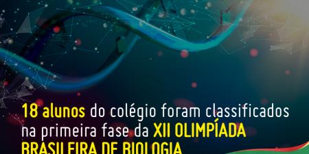 Resultado - XII OLIMPÍADA BRASILEIRA DE BIOLOGIA