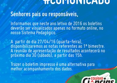 #COMUNICADO