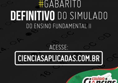 Confira os Gabaritos Definitivos - Simulado 2º Bimestre do Ensino Fundamental II