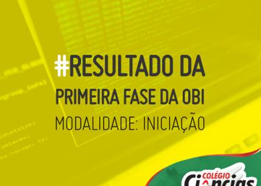 Resultado da Primeira Fase da 18ª Olimpíada Brasileira de Informática