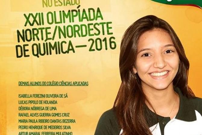 Resultado da XXII Olimpíada Norte/Nordeste de Química – 2016