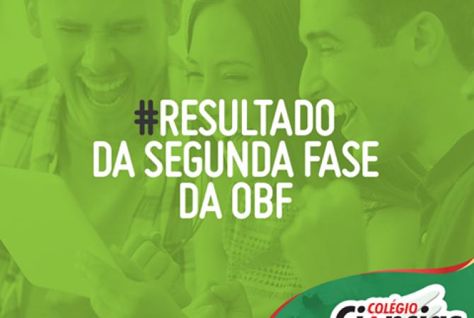 Resultado da Segunda Fase da OBF