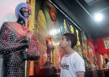 Visita ao Museu Egípcio
