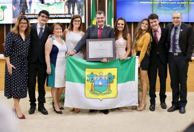 Professor Alexandre Pinto recebe título de Cidadão Norte-Rio-Grandense