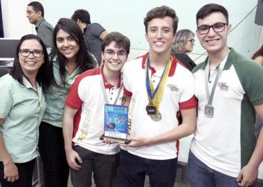 Colégio Ciências Aplicadas é campeão da XX Olimpíada de Química do RN